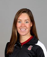 KC Moss, with the Stanford Women's Swim Team Photo taken on Wednesday, September 25, 2013.