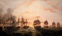 The Battle of the Nile, 1 August 1798 An important naval engagement during the French Revolutionary War, 1793-1802
