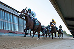 May 2, 2020: Wells Bayou (11) with jockey Florent Geroux aboard during the start of the 2nd division of the Arkansas Derby at Oaklawn Racing Casino Resort in Hot Springs, Arkansas on May 2, 2020. Justin Manning/Eclipse Sportswire/CSM