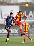 04.05.2018 Partick Thistle v Ross County: Ryan Edwaeds and Max Melbourne
