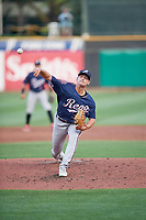 Josh Green (32) of the Reno Aces throws home during the game against the Salt Lake Bees at Smith's Ballpark on August 24, 2021 in Salt Lake City, Utah. The Aces defeated the Bees 6-5. (Stephen Smith/Four Seam Images)