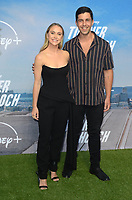 "LOS ANGELES - JUL 15:  Becca Tobin, Josh Peck at Disney+ ""Turner & Hooch"" Premiere Event at Westfield Century City Mall on July 15, 2021 in Century City, CA"