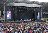 Pictured: Super Furry Animals Saturday May 2016<br /> Re: Manic Street Preachers at the Liberty Stadium, Swansea, Wales, UK