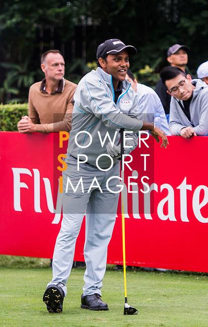S.S.P. Chawrasia of India reacts during the day three of UBS Hong Kong Open 2017 at the Hong Kong Golf Club on 25 November 2017, in Hong Kong, Hong Kong. Photo by Marcio Rodrigo Machado / Power Sport Images