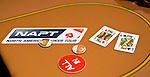 A player is all in an won with pocket kings.