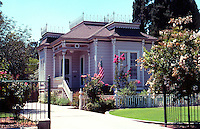 Visalia CA: House at 609 N. Encina.