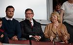 Jon Daly, Craig Levein and Ann Budge
