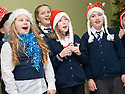 16/12/2010   Copyright  Pic : James Stewart.007_carol_singers  .::  SERCO :: PUPILS FROM LARBERT VILLAGE PRIMARY SCHOOL SING CAROLS FOR THE STAFF AND VISITORS AT THE FORTH VALLEY ROYAL HOSPITAL RESTAURANT   ::