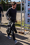 Spainsh Sergi Roberto arriving at the concentration of the spanish national football team in the city of football of Las Rozas in Madrid, Spain. November 08, 2016. (ALTERPHOTOS/Rodrigo Jimenez)