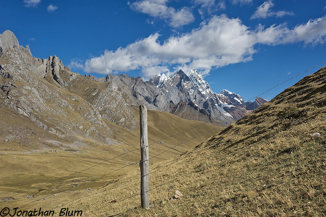 Mountains and Fences 2, Cordillera Huayuash, Peru