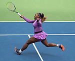 September 1,2019:  Serena Williams (USA) defeated Petra Martic (CRO) 6-3, 6-4, at the US Open being played at Billie Jean King National Tennis Center in Flushing, Queens, NY.  ©Jo Becktold/CSM