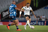 3rd April 2021; Eden Park, Auckland, New Zealand;  Hurricanes Ngani Laumape during the Super Rugby Aotearoa rugby match between the Blues and the Hurricanes held at Eden Park, Auckland, New Zealand.