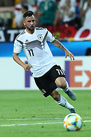 Marco Richter of Germany in action<br /> Udine 17-06-2019 Stadio Friuli <br /> Football UEFA Under 21 Championship Italy 2019<br /> Group Stage - Final Tournament Group B<br /> Germany - Denmark<br /> Photo Cesare Purini / Insidefoto
