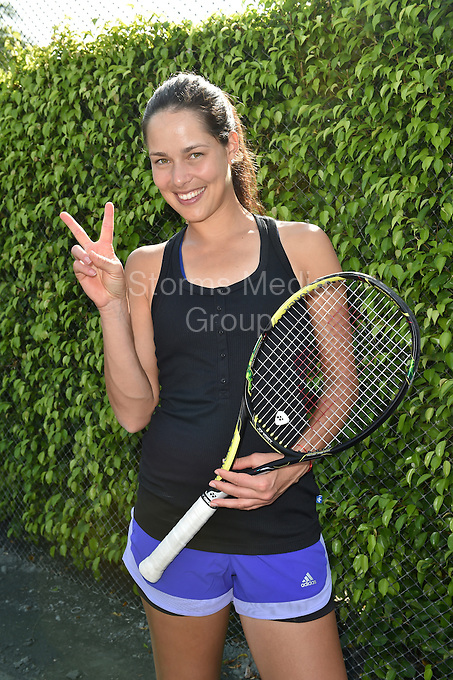 KEY BISCAYNE, FL - MARCH 24: Ana Ivanovic at the Sixth Annual Ritz-Carlton Key Biscayne, Miami All-Star Charity Tennis Event at the Ritz Hotel on March 24, 2014 in Key Biscayne, Florida.<br /> <br /> <br /> People:  Ana Ivanovic<br /> <br /> Transmission Ref:  FLXX<br /> <br /> Must call if interested<br /> Michael Storms<br /> Storms Media Group Inc.<br /> 305-632-3400 - Cell<br /> 305-513-5783 - Fax<br /> MikeStorm@aol.com