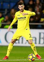 Villarreal CF's Alvaro Gonzalez during La Liga match. December 10,2017. (ALTERPHOTOS/Acero)<br /> Liga Campionato Spagna 2017/2018<br /> Foto Alterphotos / Insidefoto <br /> ITALY ONLY