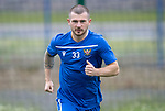 St Johnstone players back for the first day of training at McDiarmid Park in preparation for the 2019-2020 season…25.06.19<br />Pictured Matty Kennedy<br />Picture by Graeme Hart.<br />Copyright Perthshire Picture Agency<br />Tel: 01738 623350  Mobile: 07990 594431