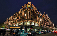 DEC 10 Harrods Christmas Lights