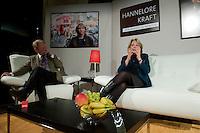 """Wahlkampfveranstaltung von Hannelore Kraft, Landesvorsitzende der nordrhein-westfaelischen SPD. Kraft ist Spitzenkandidatin zur Landtagswahl am 9. Mai 2010.<br />Am Dienstag den 2.2.2010 lud die NRW-Spitzenkandidatin der SPD, Hannelore Kraft zu ihrer Veranstaltungsreihe """"Hannelore Kraft - Von Mensch zu Mensch"""" in das Grillo-Cafe in Essen. Sie praesentierte sich ganz locker auf einem Ledersofa den ca. 280 SPD-Genossen und plauderte ueber ihr Privatleben.<br />2.2.2010, Essen<br />Copyright: Christian-Ditsch.de<br />[Inhaltsveraendernde Manipulation des Fotos nur nach ausdruecklicher Genehmigung des Fotografen. Vereinbarungen ueber Abtretung von Persoenlichkeitsrechten/Model Release der abgebildeten Person/Personen liegen nicht vor. NO MODEL RELEASE! Don't publish without copyright Christian-Ditsch.de, Veroeffentlichung nur mit Fotografennennung, sowie gegen Honorar, MwSt. und Beleg. Konto: I N G - D i B a, IBAN DE58500105175400192269, BIC INGDDEFFXXX, Kontakt: post@christian-ditsch.de Urhebervermerk wird gemaess Paragraph 13 UHG verlangt.]"""