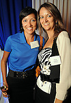 Candice Murray and Deise Golden at the Technip reception at the Hotel Derek Tuesday May 1,2012. (Dave Rossman Photo)