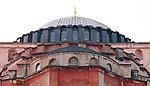Hagia Sophia Curves 02 - Hagia Sophia (Aya Sofya) basilica, Sultanahmet, Istanbul, Turkey