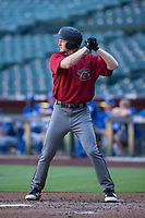 Arizona Diamondbacks first baseman Pavin Smith (35) at bat during an Instructional League game against the Kansas City Royals at Chase Field on October 14, 2017 in Phoenix, Arizona. (Zachary Lucy/Four Seam Images)