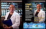 Commissioned work for First Commerce Credit Union. Ad campaign in 850 Magazine<br />
