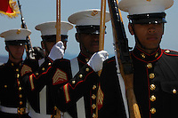 Presentation of the colors during the Memorial Day ceremonies at Mount Soledad Veterans Memorial, Monday May 26 2008