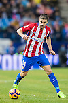 Gabriel Fernandez Arenas, Gabi, of Atletico de Madrid in action during their La Liga match between Atletico de Madrid and Deportivo Leganes at the Vicente Calderón Stadium on 04 February 2017 in Madrid, Spain. Photo by Diego Gonzalez Souto / Power Sport Images
