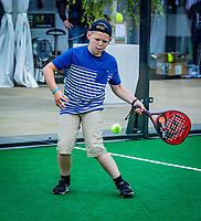 Den Bosch, Netherlands, 14 June, 2018, Tennis, Libema Open, padel<br /> Photo: Henk Koster/tennisimages.com