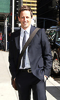 May 01, 2012: Seth Meyers at Late Show with David Letterman in New York City. Credit: RW/MediaPunch Inc/