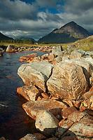 Buachaille Etive Mor and the River Etive, Rannoch Moor, Glencoe, Highland