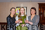 Christine O'Donoghue de Vries Killarney celebrates her birthday with Blaithin and Helen O'Donoghue in the International Hotel Killarney on Saturday night