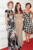 BEVERLY HILLS, CA, USA - NOVEMBER 22: AnnaLynne McCord, Carlton Gebbia, Nicky Whelan arrive at the Associates For Breast And Prostate Cancer Studios 25th Annual Talk Of The Town Black Tie Gala held at The Beverly Hilton Hotel on November 22, 2014 in Beverly Hills, California, United States. (Photo by Rudy Torres/Celebrity Monitor)