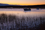 Sunrise on the Mill Creek Marsh in Sandwich, Cape Cod, MA, USA