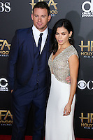 HOLLYWOOD, LOS ANGELES, CA, USA - NOVEMBER 14: Channing Tatum, Jenna Dewan arrive at the 18th Annual Hollywood Film Awards held at the Hollywood Palladium on November 14, 2014 in Hollywood, Los Angeles, California, United States. (Photo by Xavier Collin/Celebrity Monitor)