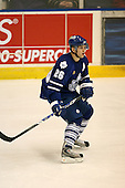 March 13, 2009:  Defenseman Jaime Sifers (26) of the Toronto Marlies, AHL affiliate of the Toronto Maple Leafs, in the first period during a game at the Blue Cross Arena in Rochester, NY.  Toronto defeated Rochester 4-2.  Photo copyright Mike Janes Photography 2009