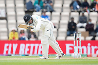 Ross Taylor, New Zealand clips into the on side during India vs New Zealand, ICC World Test Championship Final Cricket at The Hampshire Bowl on 22nd June 2021