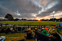 23rd March 2021; Christchurch, New Zealand;  General view during the 2nd ODI cricket match, Black Caps versus Bangladesh, Hagley Oval, Christchurch, New Zealand.