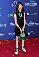 """LOS ANGELES, USA. November 08, 2019: Maeve Press at the world premiere for Disney's """"Frozen 2"""" at the Dolby Theatre.<br /> Picture: Paul Smith/Featureflash"""