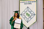 Davis, Akeyra  received their diploma at Bryan Station High school on  Thursday June 4, 2020  in Lexington, Ky. Photo by Mark Mahan Mahan Multimedia