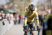 Wout Van Aert (BEL/Jumbo-Visma) pre-race<br /> <br /> 13th Strade Bianche 2019 (1.UWT)<br /> One day race from Siena to Siena (184km)<br /> <br /> ©kramon