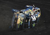 Dec. 10, 2011; Chandler, AZ, USA;  LOORRS pro 2 unlimited driver Rob MacCachren during round 15 at Firebird International Raceway. Mandatory Credit: Mark J. Rebilas-