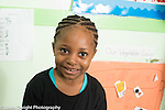 Preschool 3-4 year olds portrait of girl smiling