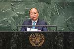 LOS general debate – 27 September<br /> <br /> PM<br /> <br />  His Excellency Nguyen Xuan Phuc, Prime Minister, Socialist Republic of Viet Nam
