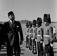 ARCHIVE -<br /> le president du Pakistan Atub Khan<br />  en visite a Quebec, septembre 1962 (date exacte inconnue)<br /> <br /> PHOTO : Agence Quebec Presse