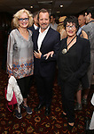 Christine Ebersole, Rob Ashford and Chita Rivera during the Rob Ashford portrait unveiling for the Sardi's Wall of Fame on October 10, 2018 at Sardi's Restaurant in New York City.