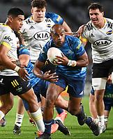 3rd April 2021; Eden Park, Auckland, New Zealand;  Mark Telea.<br /> Blues v Hurricanes Super Rugby Aotearoa. Eden Park, Auckland. New Zealand.