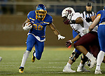 BROOKINGS, SD - MAY 2: Pierre Strong Jr. #20 of the South Dakota State Jackrabbits looks for running room against the Southern Illinois Salukis at Dana J Dykhouse Stadium on May 2, 2021 in Brookings, South Dakota. (Photo by Dave Eggen/Inertia)