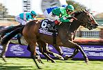 November 3, 2018: Sistercharlie #6, ridden by John Velazquez, wins the Maker's Mark Breeders' Cup Filly & Mare Turf on Breeders' Cup World Championship Saturday at Churchill Downs on November 3, 2018 in Louisville, Kentucky. Candice Chavez/Eclipse Sportswire/CSM