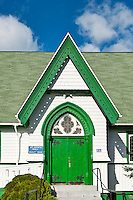 Quaint country church, Campobello Island, New Brunswick, Canada